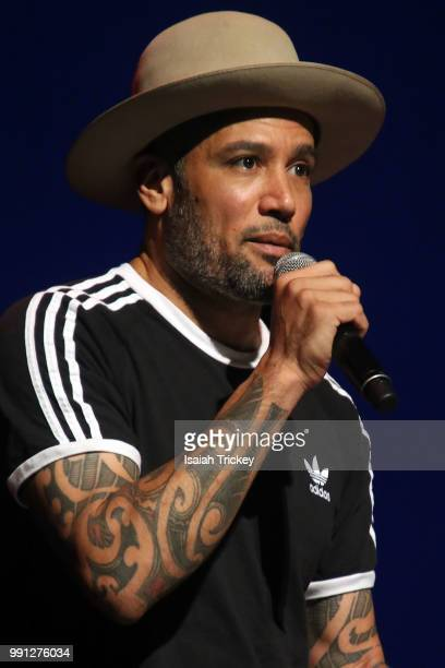 Ben Harper performs during the 2018 Montreal International Jazz Festival at Salle WilfridPelletier Place des Arts on July 3 2018 in Montreal Canada