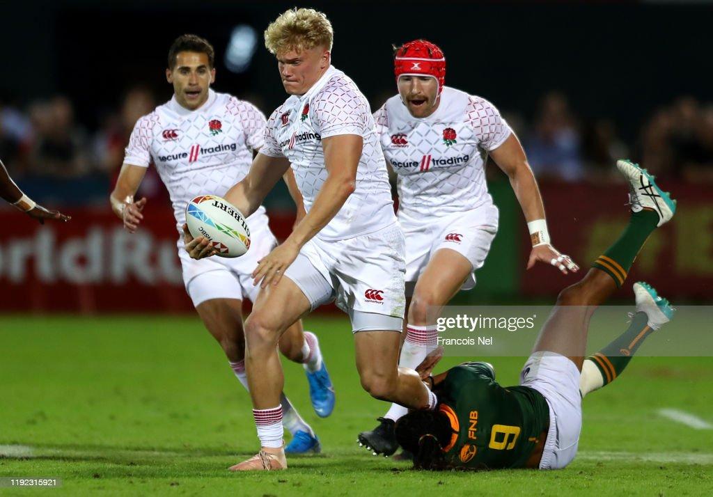 HSBC World Rugby Sevens Series - Dubai: Day Two : News Photo