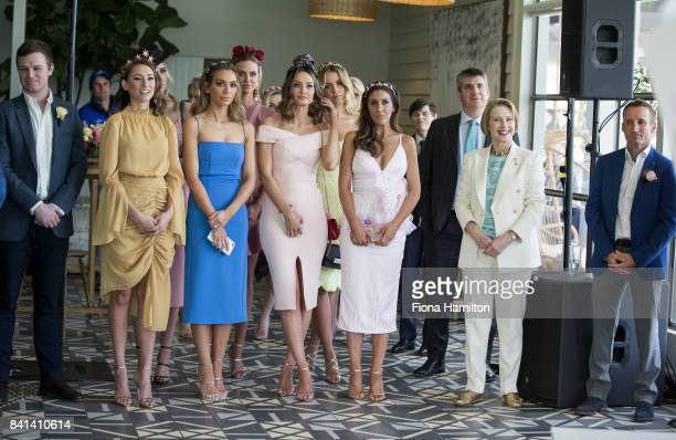 Ben Hayes Katelyn Mallyon Nadia Bartel Ruby and Lucy Brownless Kyle Brown Lana Wilkinson Giles Thompson Gai Waterhouse and Damian Oliver at...