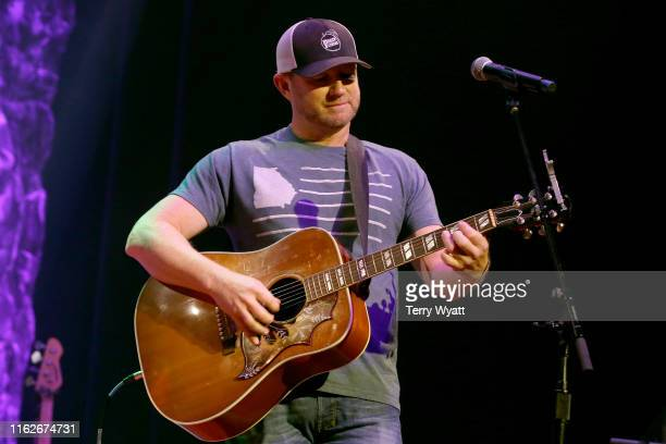 Ben Hayslip of The Peach Pickers performs onstage during the 6th Annual Georgia On My Mind presented by Gretsch at Ryman Auditorium Nashville on July...