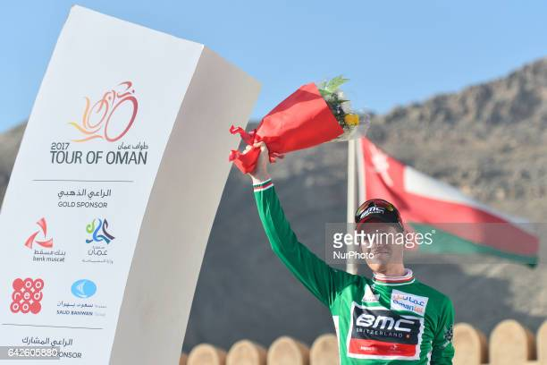 Ben HERMANS from BMC Racing Team takes the Green Jersey in General Points Classificationr after he wins the fifth stage a 1525km from Sama'il to...