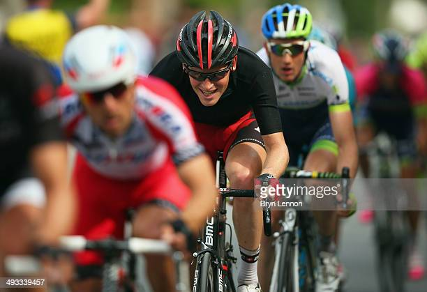 Ben Hermans of Belgium and BMC Racing Team in action during the thirteenth stage of the 2014 Giro d'Italia a 157km stage between Fossano and Rivarolo...