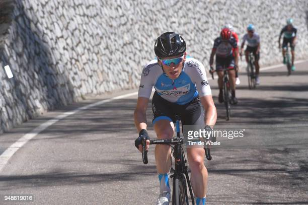 Ben Hermans of Belgium and Team Israel Cycling Academy / during the 42nd Tour of the Alps 2018 Stage 4 a 1344 stage from Chiusa/Klausen to Lienz on...