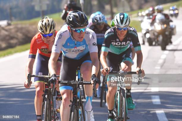Ben Hermans of Belgium and Team Israel Cycling Academy / Felix Grossschartner of Austria and Team Bora Hansgrohe / during the 42nd Tour of the Alps...
