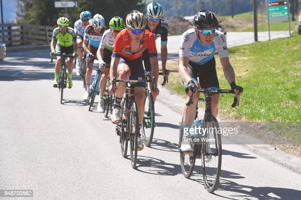 Ben Hermans of Belgium and Team Israel Cycling Academy / Mark Padun of Ukraine and Team Bahrain Merida / during the 42nd Tour of the Alps 2018 Stage...