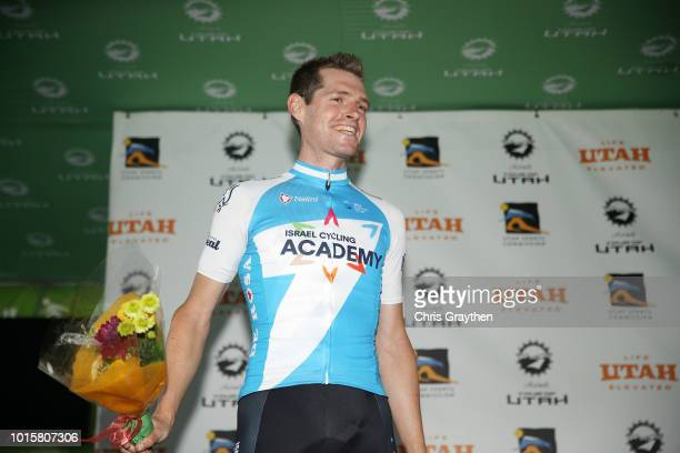 Ben Hermans of Belgium and Team Israel Cycling Academy / Podium /Celebration / during the 14th Larry H Miller Tour of Utah Stage 6 a 1234km stage...