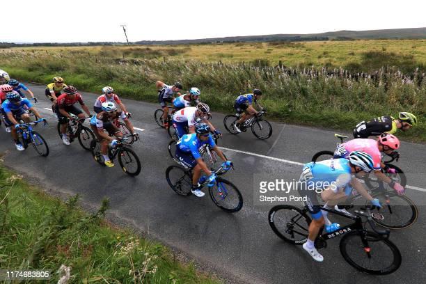 Ben Hermans of Belgium and Team Israel Cycling Academy / Tanel Kangert of Estonia and EF Education First Pro Cycling / Luke Durbridge of Australia...