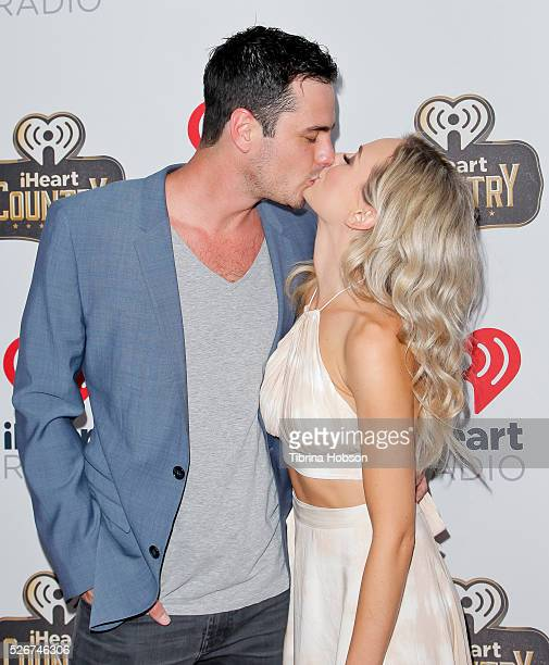 Ben Higgins and Lauren Bushnell attend the 2016 iHeartCountry Festival at The Frank Erwin Center on April 30 2016 in Austin Texas