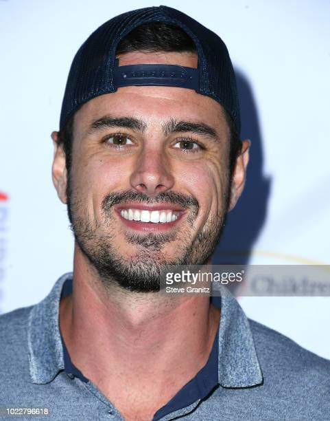 Ben Higgins arrives at the 6th Annual PingPong4Purpose at Dodger Stadium on August 23 2018 in Los Angeles California