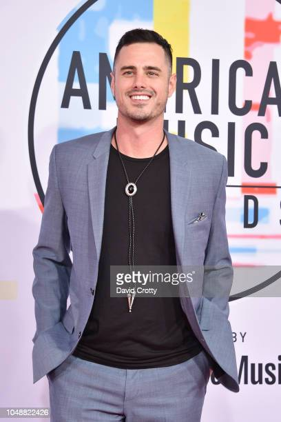 Ben Higgins attends the 2018 American Music Awards at Microsoft Theater on October 9 2018 in Los Angeles California