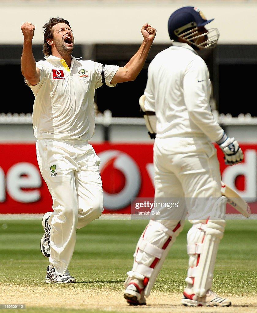 Australia v India - First Test: Day 4