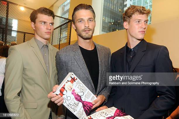 Ben Hill celebrates Fashion's Night Out at Calvin Klein Boutique on September 6 2012 in New York City