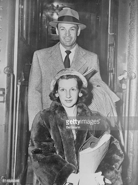 Ben Hogan and wife, Valerie, return to their home in Fort Worth after the bantam golfer's amazing comeback in the Los Angeles Open. Hogan had to be...