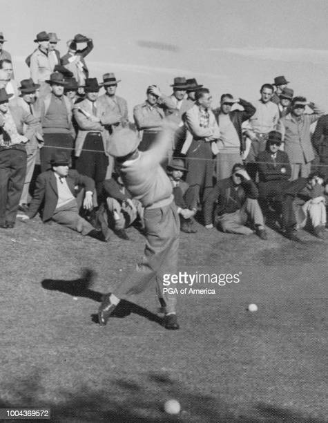 "Ben Hogan at the LA Open in 1941. ""nPhoto by Mall Karpan."