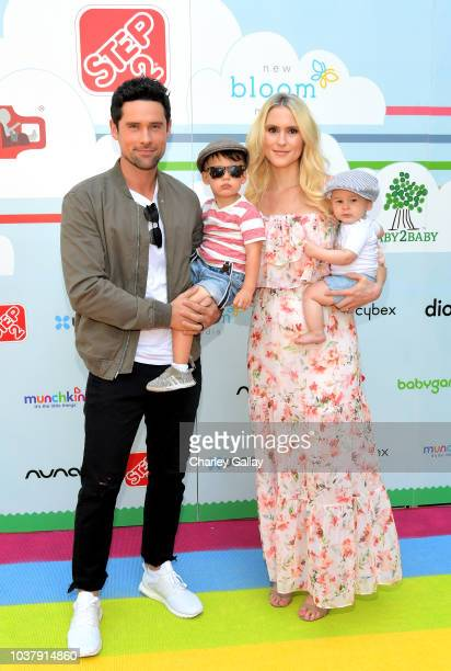 Ben Hollingsworth and Nila Myers attend Step2 Presents 7th Annual Celebrity Red CARpet event by New Bloom Media Benefitting Baby2Baby at Sony...