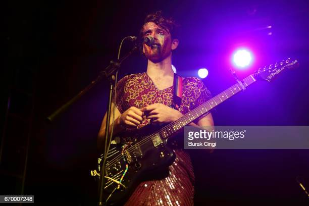 Ben Hopkins of PWR BTTM performs at The Garage on April 18 2017 in London United Kingdom
