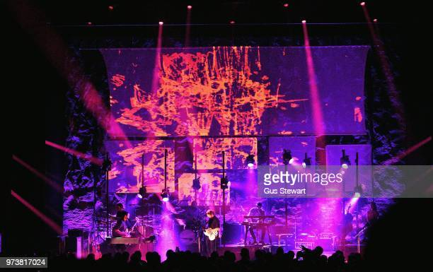 Ben Howard performs on stage at Eventim Apollo on June 13 2018 in London England