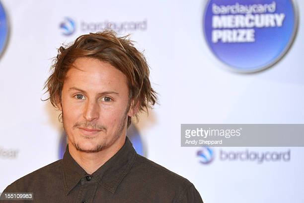 Ben Howard posed at the nominee arrivals area during the Mercury Music Prize Awards Ceremony at The Roundhouse on November 1, 2012 in London, England.