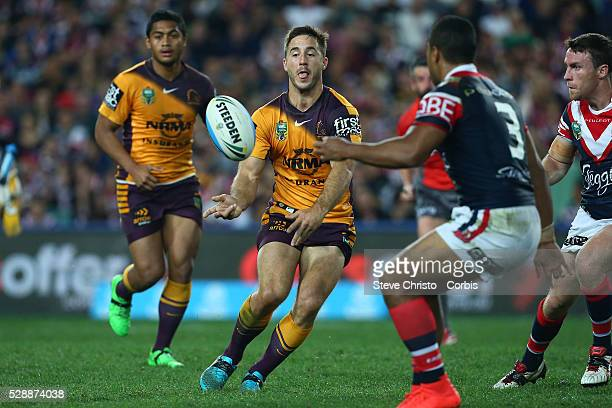 Ben Hunt of the Broncos in action during the round 24 match between Sydney Roosters and Brisbane Broncos at Allianz Stadium on Saturday August 22nd...
