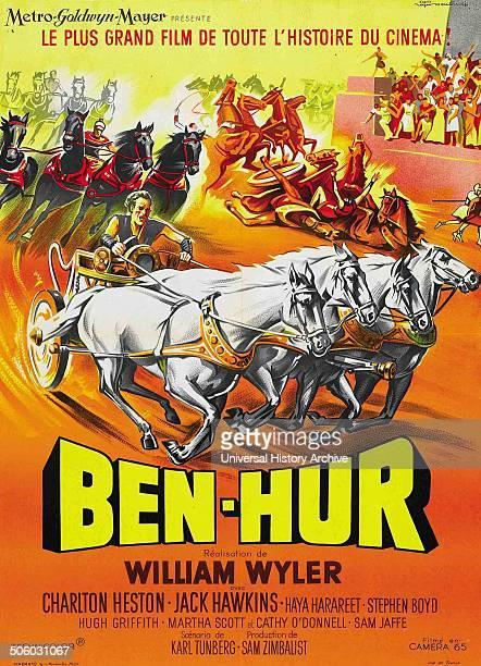 'Ben Hur' the 1959 epic of all biblical epics starring Charlton Heston and Jack Hawkins