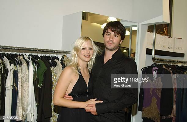 Ben Indra and Anna Faris at the ABS Santa Monica in Santa Monica California