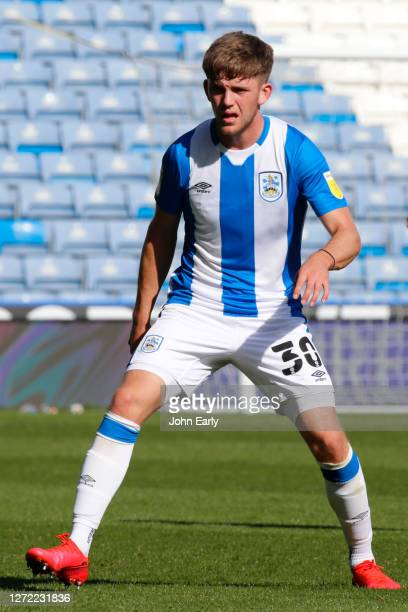 Ben Jackson of Huddersfield Town during the Sky Bet Championship match between Huddersfield Town and Norwich City at John Smith's Stadium on...
