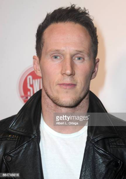 Ben Jagger arrives for the TJ Scott Book Launch For 'In The Tub Volume 2' held at Cinematic Pictures Group Gallery on December 2 2017 in Hollywood...