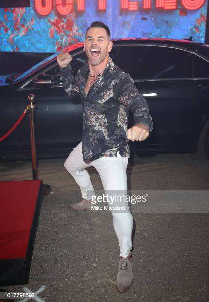 Ben Jardine enters the Celebrity Big Brother house at Elstree Studios on August 16 2018 in Borehamwood England