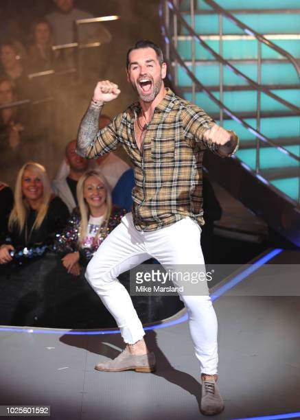 Ben Jardine is evicted from the Celebrity Big Brother house at Elstree Studios on August 31 2018 in Borehamwood England