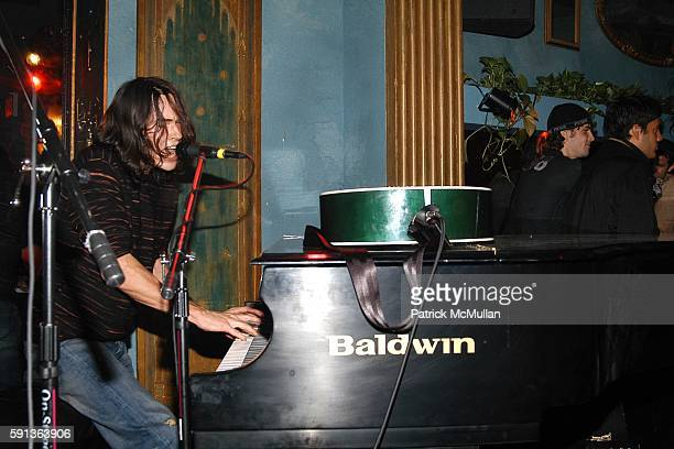 Ben Jelen attends Jhane Barnes Patrick McMullan Fabian Basabe and AKA Host a Private Performance by Ben Jelen at NA on February 16 2005 in New York...