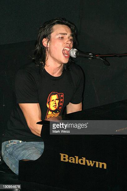 Ben Jelen during Ben Jelen Performs at 'Rock the Vote' NYC March 30 2004 at Knitting Factory in New York City New York United States