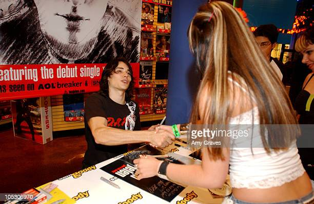 Ben Jelen has signing at the Universal City Walk Sam Goody store to promote his new CD 'Give It All Away'