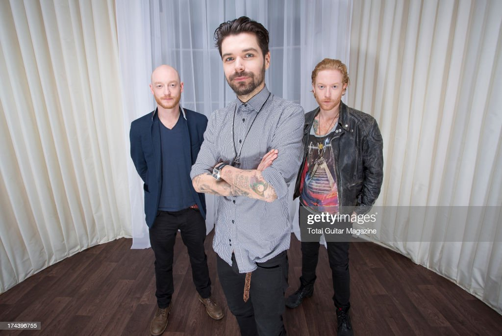Biffy Clyro Portrait Shoot, London