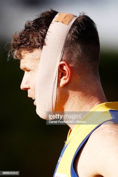 Ben Jolley of Williamstown looks on from the boundary line during the round 13 VFL match between Williamstown and Collingwood at Williamstown...
