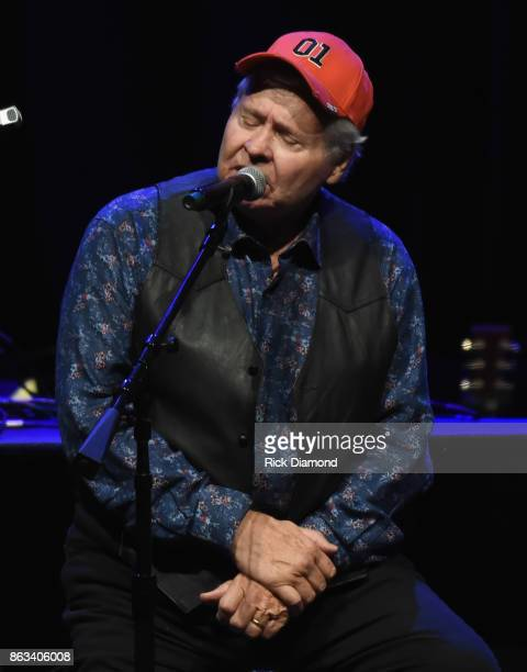 Ben Jones aka Cooter of TV's Dukes of Hazzard performs onstage during Dr Ralph Stanley Forever A Special Tribute Concert at Grand Ole Opry House on...