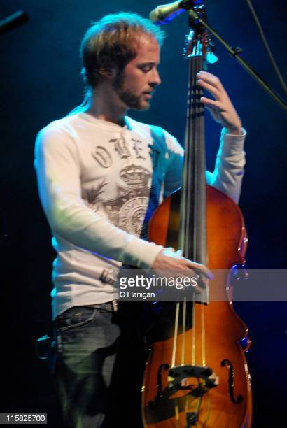 Ben Kaufmann of Yonder Mountain String Band during Green Apple Music Festival San Francisco Day 2 at The Fillmore Auditorium in San Francisco...