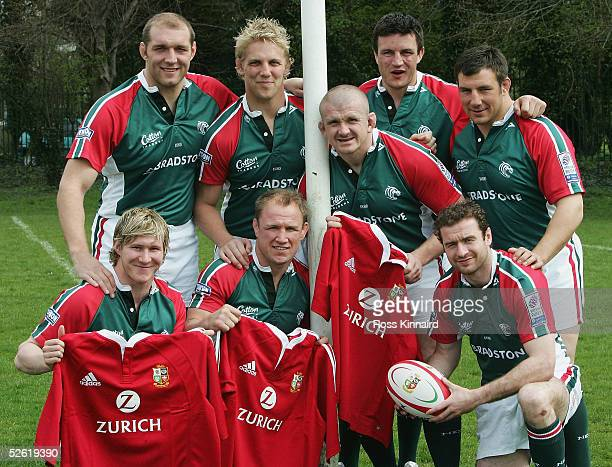 Ben Kay, Lewis Moody, Graham Rowntree, Martin Corry and Julian White. Ollie Smith, Neil Back and Geordan Murphy, the Leicester Tigers players who...