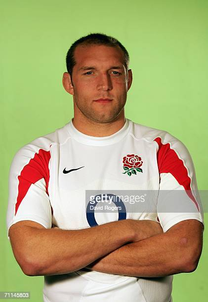 Ben Kay of England poses during a studio session held on June 7 2006 at The Manly Pacific Hotel ManlySydney Australia