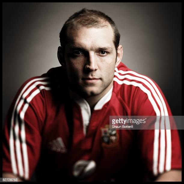 Ben Kay pictured during the British and Irish Lions Squad Photocall for the 2005 Tour to New Zealand on April 18 2005 in Cardiff Wales