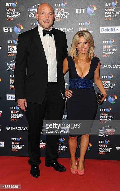 Ben Kaye attends the BT Sport Industry Awards at Battersea Evolution on May 8 2014 in London England