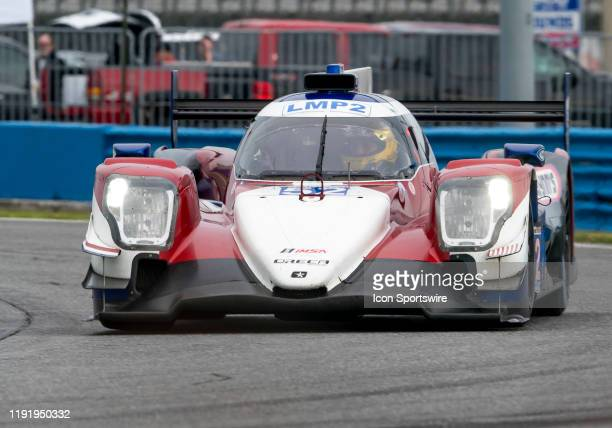 Ben Keating USA Simon Trummer CHE Gabriel Aubry FRA driver LE MANS PROTOTYPE 2 of PR1/Mathiasen Motorsports~ORECA LMP2 07 during the Roar before 24...