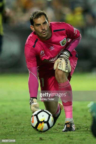 Ben Kennedy of the Mariners in action during the round 11 ALeague match between the Central Coast and the Western Sydney Wanderers at Central Coast...