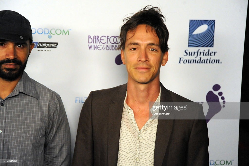 Ben Kenney and Brandon Boyd attends The Surfrider Foundation's 25th Anniversary Gala at the California Science Center's Wallis Annenberg Building on October 9, 2009 in Los Angeles, California.