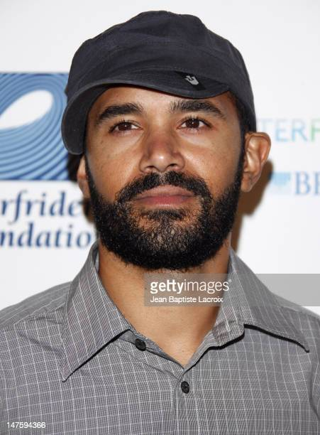 Ben Kenney arrives at The Surfrider Foundation's 25th Anniversary Gala at the California Science Center's Wallis Annenberg Building on October 9 2009...