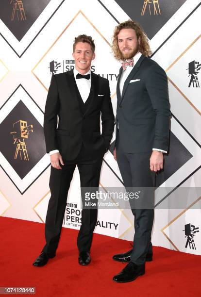 Ben Kilner and Ed Drake attend the 2018 BBC Sports Personality Of The Year at The Vox Conference Centre on December 16 2018 in Birmingham England
