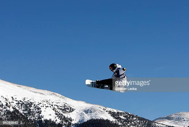 Ben Kilner of Great Britain competes during the US Snowboard Grand Prix men's qualifier on December 11 2009 in Copper Mountain Colorado
