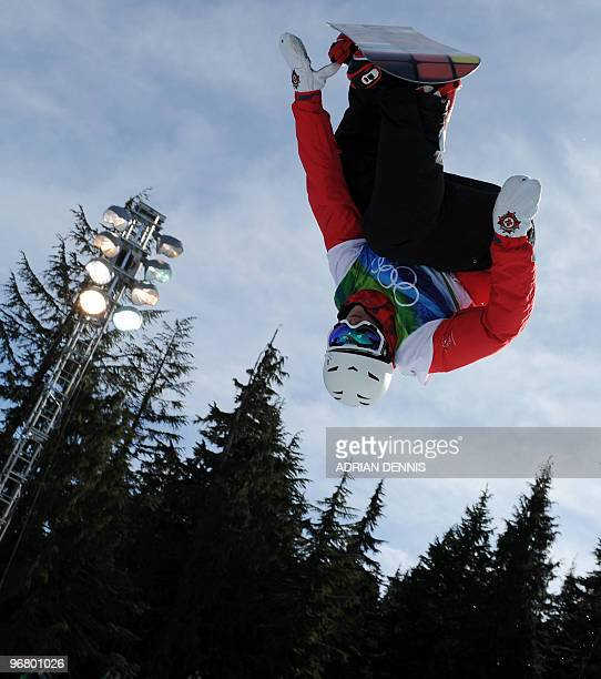 Ben Kilner of Great Britain competes in the men's Snowboard Halfpipe at Cypress Mountain during the Vancouver Winter Olympics north of Vancouver on...