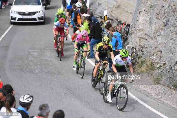 Ben King of The United States and Team Dimension Data / Christopher Juul Jensen of Denmark and Team Mitchelton-Scott / Brendan Canty of Australia and...