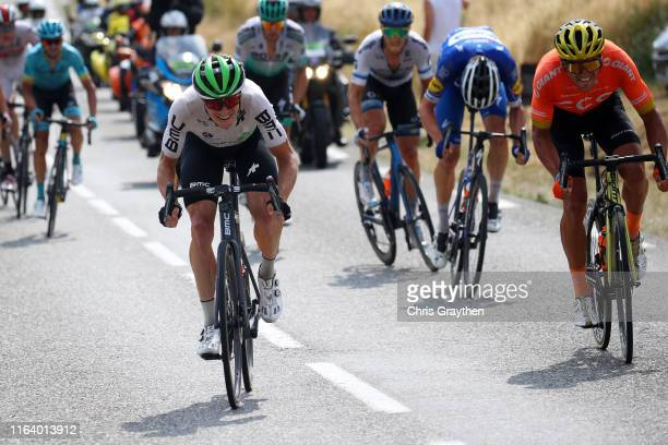 Ben King of The United States and Team Dimension Data / Greg Van Avermaet of Belgium and CCC Team / during the 106th Tour de France 2019, Stage 17 a...