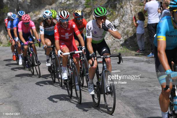 Ben King of The United States and Team Dimension Data / Sebastien Reichenbach of Switzerland and Team Groupama-FDJ / during the 106th Tour de France...